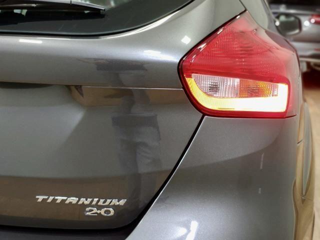 Focus titanium hatch 2016 c/44.000km automático. léo careta veículos - Foto 12