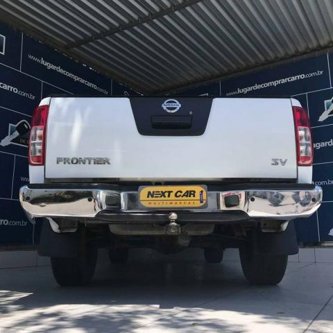 NISSAN FRONTIER 2013/2014 2.5 SV ATTACK 4X4 CD TURBO ELETRONIC DIESEL 4P MANUAL - Foto 5