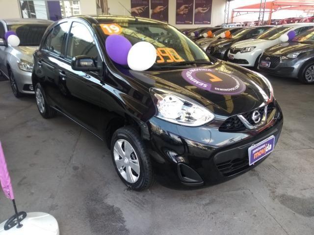 Nissan March 1.0 S 2019 Mais barato impossível