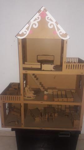 Casa de boneca completa