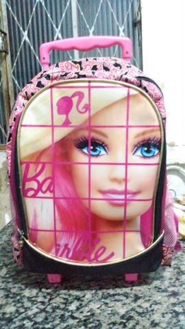 Mochila da Barbie Rosa Infantil