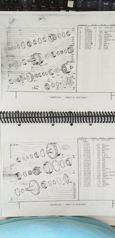 Catálogo peças, manual, Ad7b, Uniport, FG85, FR12, FB80, 70ci, FH200, 4CT - Foto 2