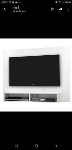 Painel para TV até 43 Polegadas Eros Branco Notável