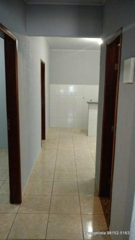 Urgente Linda Casa de 3 Quartos Escriturada + Barraco de Fundo - Foto 6