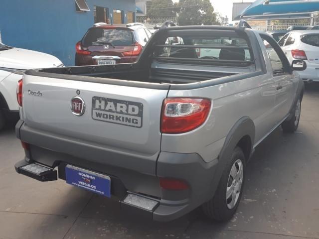 FIAT  STRADA 1.4 MPI HARD WORKING CS 8V 2017 - Foto 4