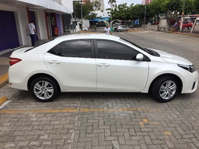 Corolla Gli Upper 1.8 2017 Branco Pérola Automático - Particular - Foto 5