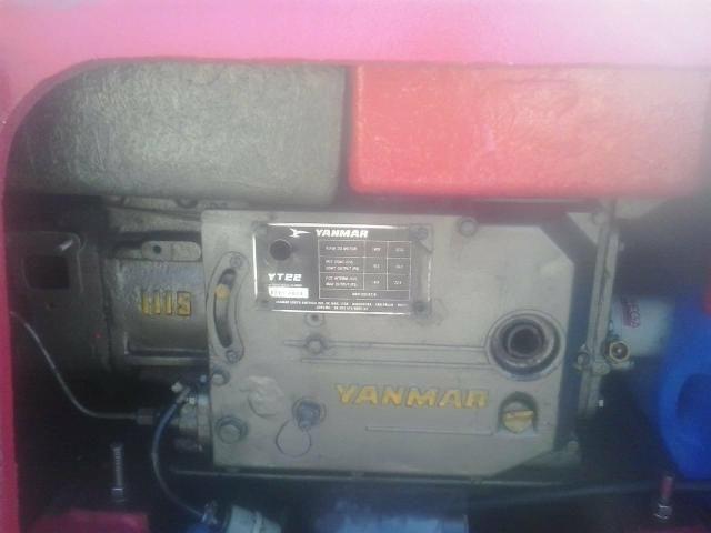Motor Yanmar YT 22