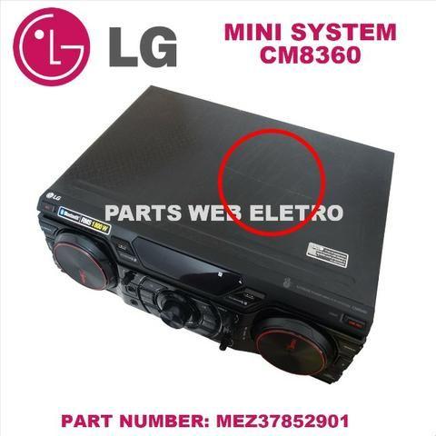 Mini System Lg Cm8360 C/ Controle S/ Caixas Acústicas - Foto 4