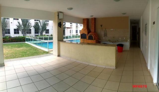 AP1601 Condomínio Vitalice, apartamento em messejana, 2 quartos, área de lazer completa - Foto 2