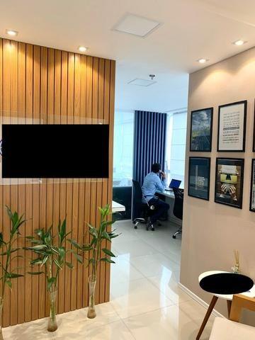 ESCRITÓRIO PRONTO !! Mobiliário já instalado em sala no Marcus Barbosa Office