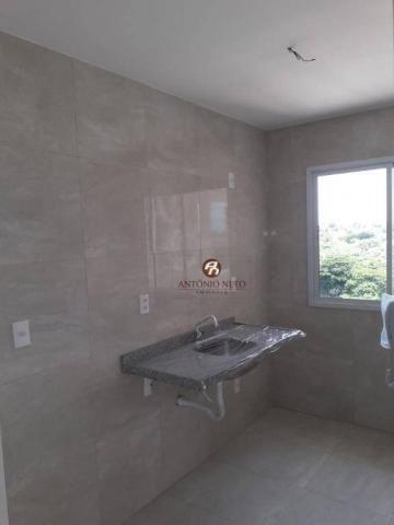 Apartamento NOVO com 3 dormitórios para alugar, 65 m² por R$ 1.150/mês - Messejana - Forta - Foto 20