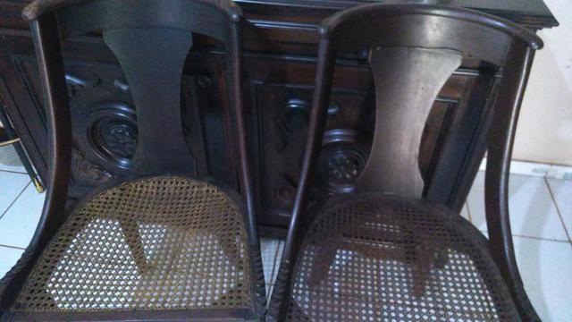 Cadeiras antigas para restauro - Foto 4