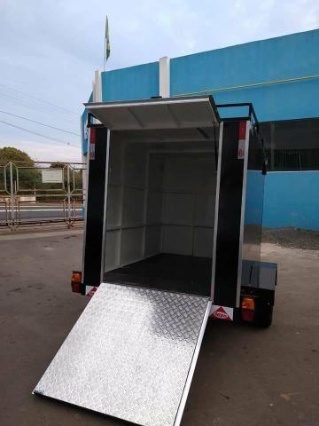Carrinho gourmet fábrica trailers - Foto 3
