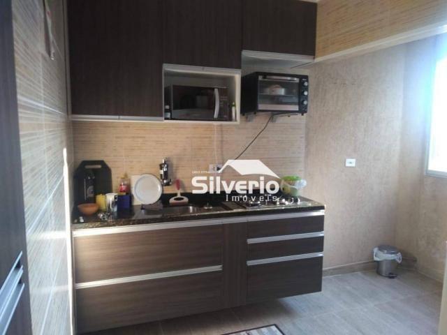 Apartamento com 2 dormitórios à venda, 50 m² por r$ 210.000 - vila rossi - são josé dos ca - Foto 7