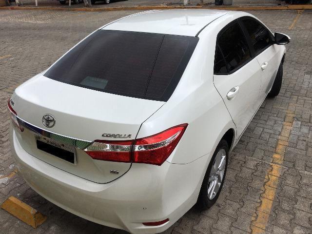 Corolla Gli Upper 1.8 2017 Branco Pérola Automático - Particular - Foto 6