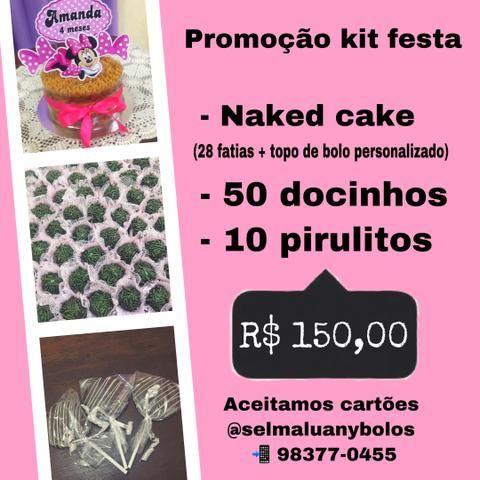 Kit festa - promoção