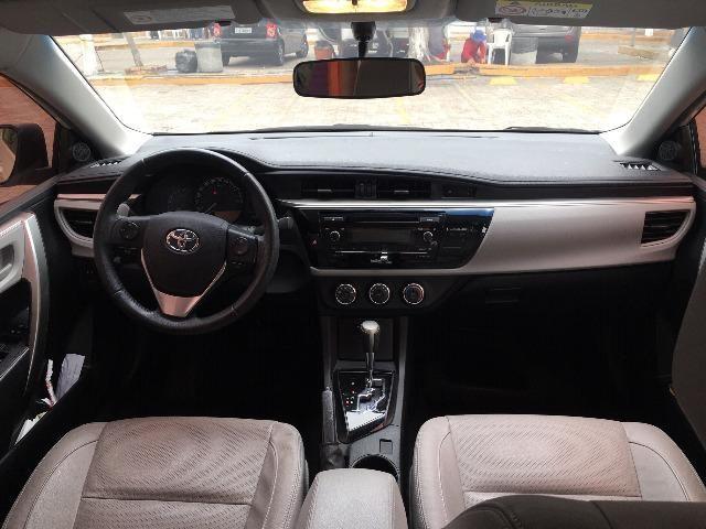 Corolla Gli Upper 1.8 2017 Branco Pérola Automático - Particular - Foto 16