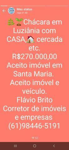 C a sa com 3 qts. Suíte na Ponte Alta R$600.000,00  * - Foto 7