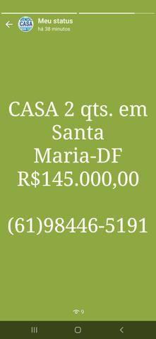 C a sa com 3 qts. Suíte na Ponte Alta R$600.000,00  * - Foto 2