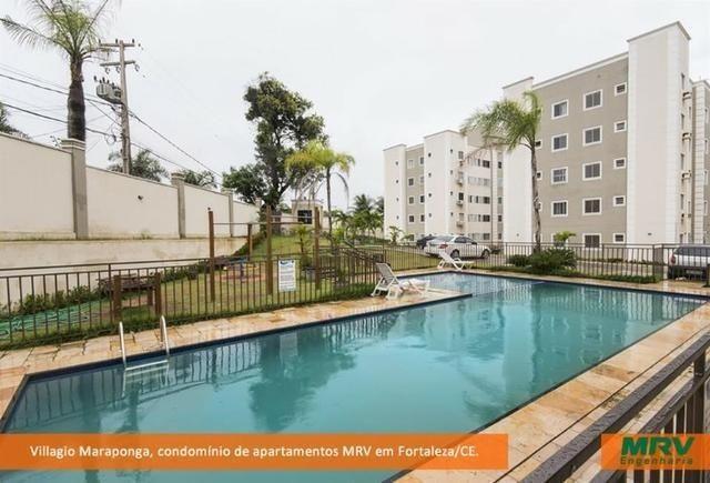 Apartamento na Maraponga 145mil Pronta Entrega