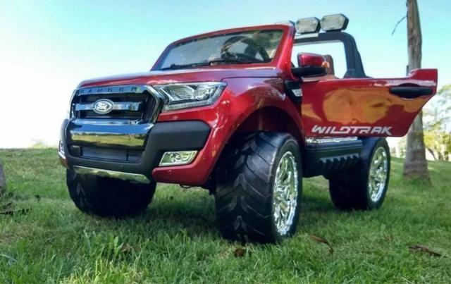 Carro Elétrico Infantil Ford Ranger Wild Track 12 volts. 4x4 Gigante Licenciado