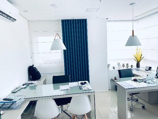 ESCRITÓRIO PRONTO !! Mobiliário já instalado em sala no Marcus Barbosa Office - Foto 4