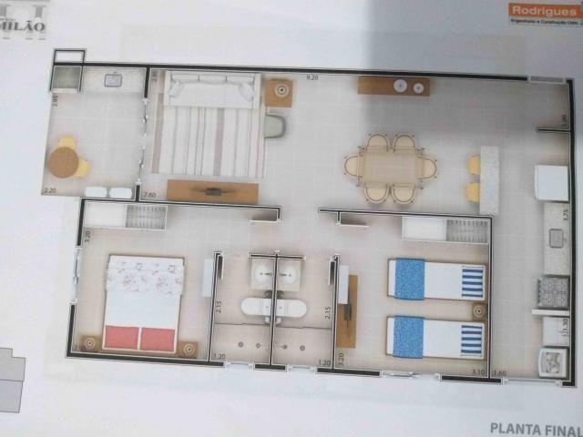 Apartamento à venda com 2 dormitórios em Itaguá, Ubatuba cod:9050 - Foto 3