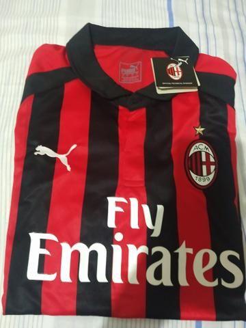Vendo camisa do Milan 2019 - Roupas e calçados - Res E C C Morumbi ... 9d30a9cf542a2