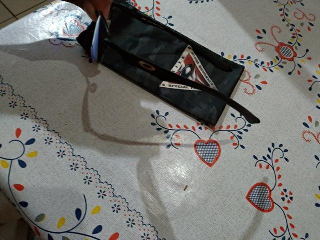 592fffd6a5134 Óculos Oakley Brushed Chrome, Lupa Original - Bijouterias, relógios ...