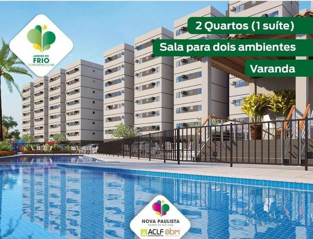Jardins do Frio Condomínio Club 2 Qrts/1 suite piscina, lazer completo (20mil de desconto)