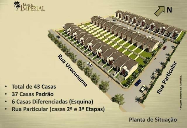 Casas em Eusébio, rua privativa, 4 SUÍTES - Foto 3