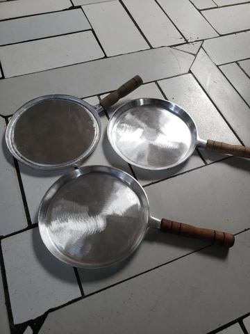 Tapioquera de alumínio batido