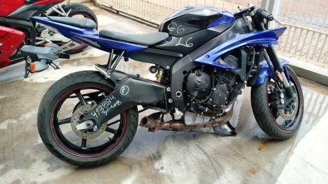 Moto Para Retirada De Peças/sucata Yamaha Yzr R6 Ano 2008 - Foto 5