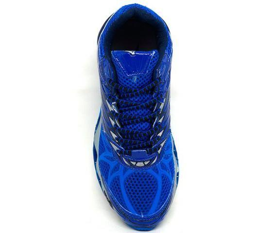 f0ad39d9ed Tênis Mizuno Wave Prophecy 7 Azul Royal e Cinza - Roupas e calçados ...