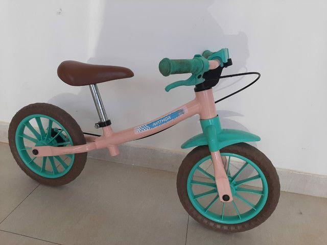 Bicicleta de equilíbrio Nathor (sem pedal) - Foto 2