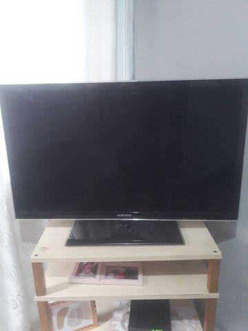 TV Samsung funcionando ,mais com led queimado . TIRAR PECAS