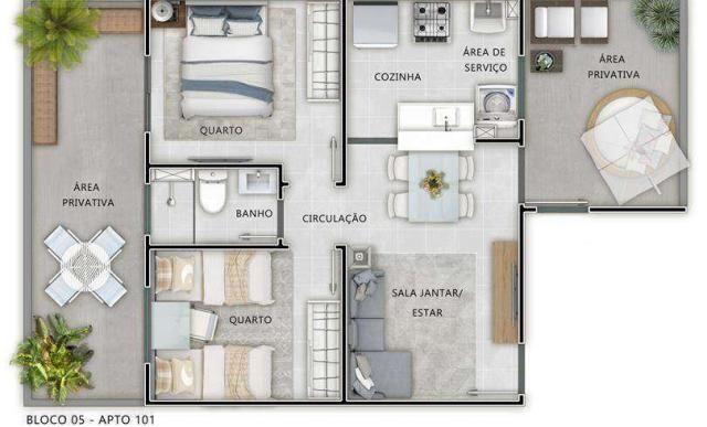 Residencial Ambrósio - Apartamento em Sta Bárbara do Oeste, SP - ID4101 - Foto 8