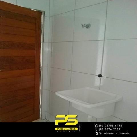 Apartamento com 2 dormitórios à venda, 60 m² por R$ 110.000 - Paratibe - João Pessoa/PB - Foto 8