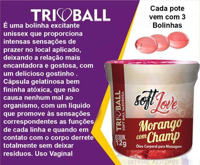 Kit 5 . Bolinhas Morango Champ e Eletrificante, Volumão e 2 Brindes(1 Anel) - Foto 5