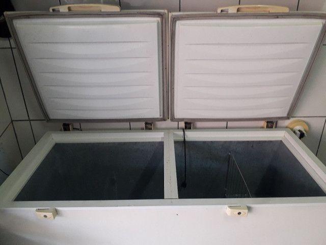 Freezer eletrolux 477L (defeito)