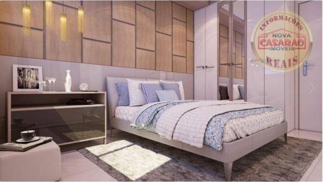 Apartamento com 2 dormitórios à venda, 77 m² por R$ 419.958 - Maracanã - Praia Grande - Foto 19