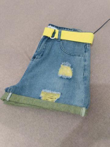 Shorts Jeans Novo - Foto 2