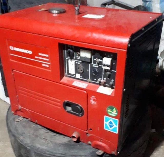 Gerador monofásico Diesel - Foto 3