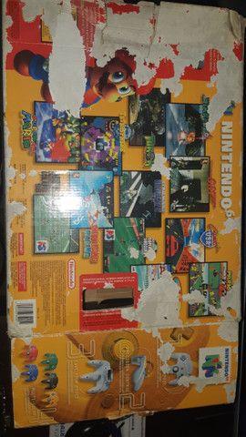 Nintendo 64 completo +  Zelda Ocarina of Time + Internation superstar soccer 64 - Foto 6