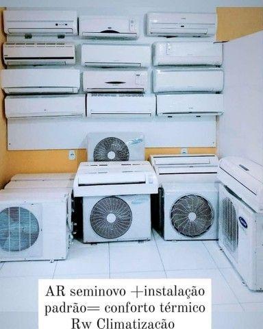 AR condicionado seminovo com nossa instalação DAMOS GARANTIA  - Foto 4