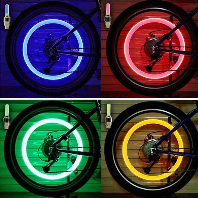 LED luminoso para bicicleta carro e moto - Foto 2