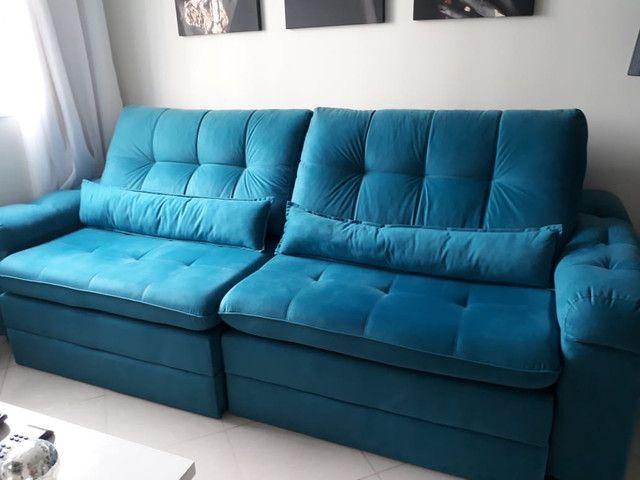 Sofá de sala retrátil