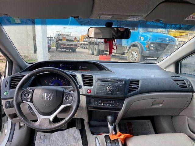 Honda Civic LXR 2016 Apenas 55 mil km  - Foto 9