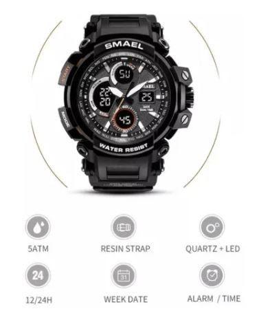 Relógio Smael Militar Digital