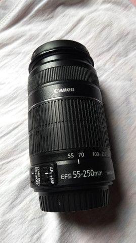 Lente Canon 55-250mm - Foto 3